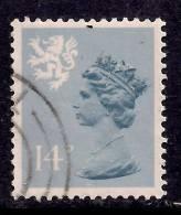 SCOTLAND GB 1981 14p Grey Blue Used Machin Type 1 SG S40. ( K248  ) - Regional Issues