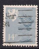 SCOTLAND GB 1981 14p Grey Blue Used Machin Type 1 SG S40. ( K251 ) - Regional Issues