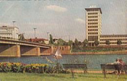 Germany Frankfurt Friedenbruecke 1954