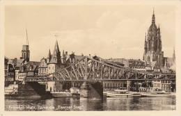 Germany Frankfurt Partie am Eiserner Steg 1951 Photo