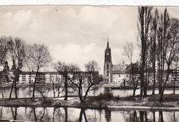 Germany Frankfurt Mainpartie mit Dom 1957 Photo
