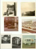 Old Timer 7 Photos  Au Format 8 Cm / 8 Cm  Camion - Turismo