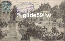 SEDAN (1870) - Place Turenne - Soldats Français Partant Pour La Captivité Après La Reddition - N° 5 - Sedan