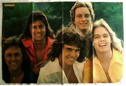 Musik Poster  - Band Kenny  -  Rückseitig Jimy Hendrix  -  Ca. 78 X 51,5 Cm  -  Von Bravo  Ca. 1978 - Plakate & Poster