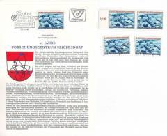 3011z18: Österreich 1981; Forschungszentrum Seibersdorf, **, Gest., Ersttagsblatt - Atomenergie