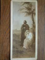 BIJBELSE FIGUREN / Foto Van Kunstwerk ( Cabinet Photo ( +/- 8 X 17,5 Cm.- Zie Foto Voor Details ) ! - Godsdienst & Esoterisme