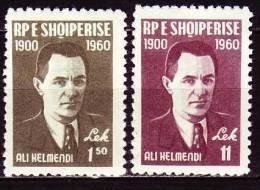 Albanien 1960 - 617-18 ** / Michel - Albanien