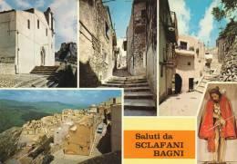 SCLAFANI BAGNI (PALERMO) SALUTI & VEDUTINE - Palermo