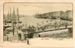 LATVIA - GRUSS Aus LIBAU - Der Hafen ++++++++++++ - Letonia