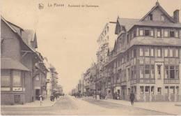"""La Panne, De Panne - """" Boulevard De Dunkerque """" 1922 - De Panne"""