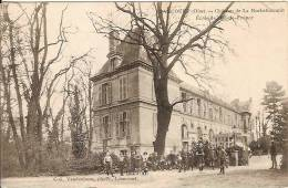 60 - Liancourt (oise) - Château De La Rochefoucault - Ecolé De L'île De France - Liancourt