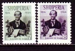Albanien 1964 - 885-86 **/ Michel - Albanien