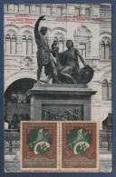 RUSSIA RUSSIE - CP MOSCOU - MONUMENT DE MININE ET POJARSKY - CIRCULEE EN 1916 - Russland