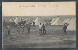 - CPA 56 - Camp De Coëtquidan, Vue Des Tentes Côté Nord - Guer Coetquidan