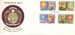 FDC Des Timbres Peace On Earth Et Goodwill Toward Men, 14 Nov 1979 - Nauru