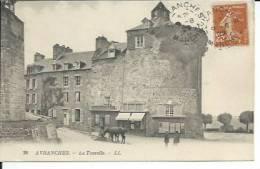26 - AVRANCHES - LA TOURELLE ( Animées - CAFE GERMAIN ) - Avranches