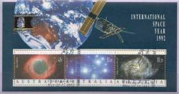 Australia CTO Overprinted SS - Space