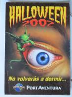 Halloween 2002 - No Volveras à Dormir - Universal Port Aventura - Scan Recto-verso - Halloween