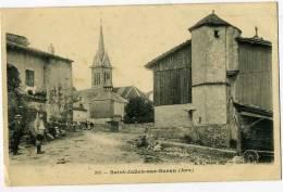 Saint Julien Sur Suran (Jura) - église - Animée - Francia