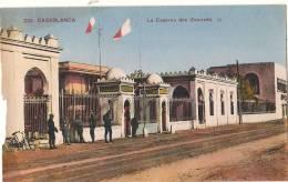 CASABLANCA La Caserne Des Zouaves  Mal Coupée - écrite TB - Casablanca