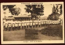Cpa Du Dahomey Ouidah Société Sportive Jeanne D' Arc  Mission Catholique    2LIO12 - Dahomey