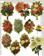 Découpis Lot De 11 Motifs Fleurs V.20 € - Flowers