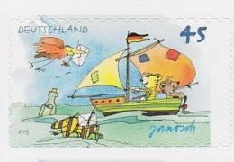 2013 ALLEMAGNE Germany  ***   JANOSCH  *** ** MNH Voile Bateau Yacht Bateau Dériveur Sailing Boat Dinghy Segeln B [BD68] - Roofkatten