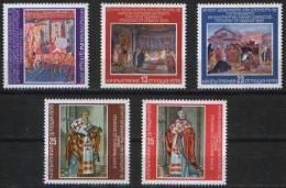 Bulgaria 1979 - Fresco  Art.  Painting - Mi.2860-2864-  MNH (**) - Bulgarien