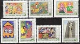Bulgaria 1980 -Year Of The Child  Art. Children Painting - Mi.2921-2927-  MNH (**) - Bulgarien