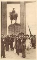 Belgique -ref A65- La Famille Royale A L Inauguration Du Monument Roi Albert A Nieuport - Edit Nels -carte Bon Etat   - - Nieuwpoort