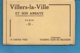 VILLERS La VILLE Et Son Abbaye - Série II - 10 Cartes Vues - Collection Touring Club De Belgique - Villers-la-Ville