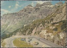 Schweiz - 3952 Susten - Sustenpass - Parkplatz Mit Gadmenfluh - Cars - Opel - Nice Stamp - VS Valais