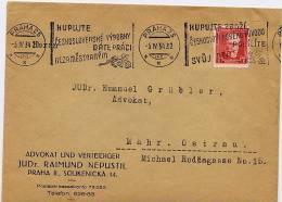 CECOSLOVACCHIA  - PRAHA  5.IV.34  -  KUPUJTE - Briefe U. Dokumente