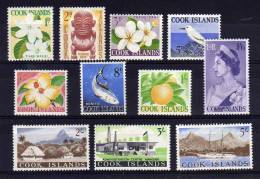 Cook Islands - 1963 - Definitives - MH - Cook