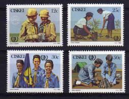 Ciskei - 1985 - International Youth Year/Girl Guides 75th Anniversary - MNH - Ciskei