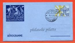 VATICAN AEROGRAMME 200L OBLITERE 16/09/1978 - Entiers Postaux