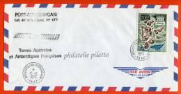 T.A.A.F PA N°24 SUR LETTRE DES KERGUELEN DU 15/11/1973 - Franse Zuidelijke En Antarctische Gebieden (TAAF)
