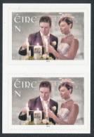 IRELAND/Irland/Eire 2013 Weddings Adhesive Pair** - 1949-... Repubblica D'Irlanda