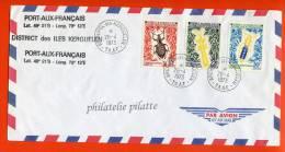 T.A.A.F N°49/51 SUR LETTRE DES KERGUELEN DU 26/04/1973 - Autres