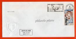 T.A.A.F LETTRE DE MARTIN DE VIVIES DU 08/04/1975 - Franse Zuidelijke En Antarctische Gebieden (TAAF)