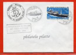 T.A.A.F PA N°29 FDC SUR LETTRE DES KERGUELEN DU 25/01/1973 - Franse Zuidelijke En Antarctische Gebieden (TAAF)