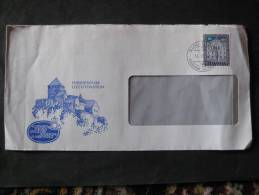 Bedarfsbrief Mit Dienstmarke 90 R. - Briefe U. Dokumente