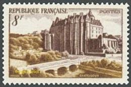France N°  873 ** Site - Chateau De Châteaudun - Nuovi
