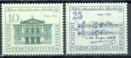 "1959 German Democratic Republic Cplt. MNH (**) Set Of 2 Stamps"" Felix Mendelssohn Bartholdi  "" Michel 676-77 - Ungebraucht"