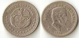 Colombia  20 Centavos 1959 - Colombia