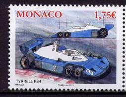 """MONACO   -  - """" TYRRELL P34 """"      -  1 V  NEUF** - 2013 - Automobili"""
