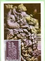 CARTES 1° Jours. Yvert N° 1743   Eglise Du Moutier D'Ahun - 1970-79