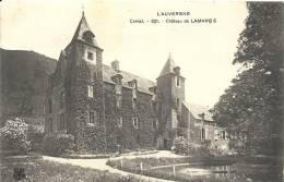 Cantal- Château De Lamargé. - France
