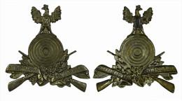 """M01323 Schot Schuss Tir Fusil Cible """"z"""" Znaim Schutzen Verein 1551 (3 G..) - Jetons & Médailles"""