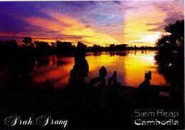 CAMBODIA - SRAH SRANG - ANGKOR THOM - SIEM REAP - PERFECT MINT QUALITY - Cambodia